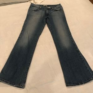 Levi's Low Flare 537 Jeans Size 8